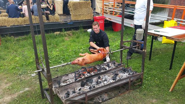 Photo of Ambachtelijke slagers en ginstokers op de BOERenmarktXL