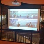 Video Wall concept voor in reizigerstunnel Zwolle
