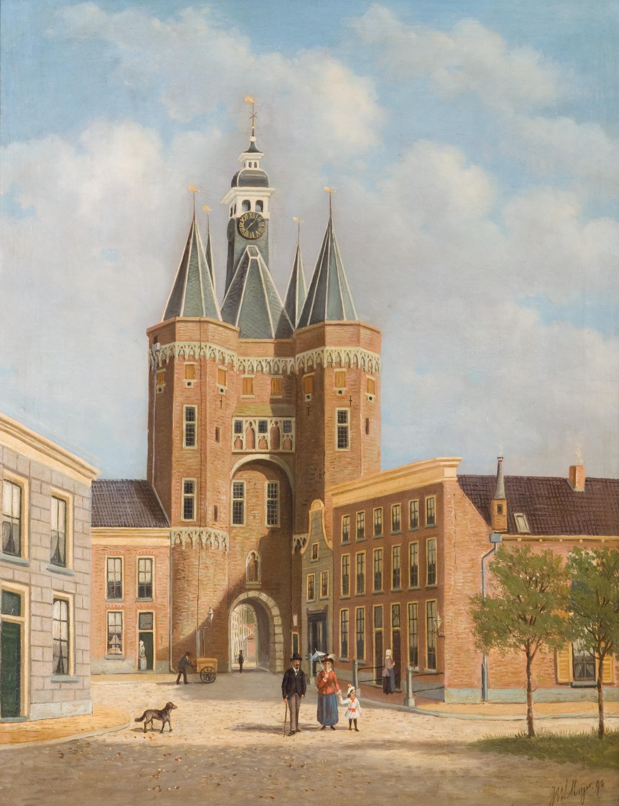 Photo of Expositie over Sassenstraat in Stedelijk Museum Zwolle