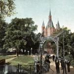 Sassenpoortenbrug, na 1904 Prentbriefkaart particuliere collectie