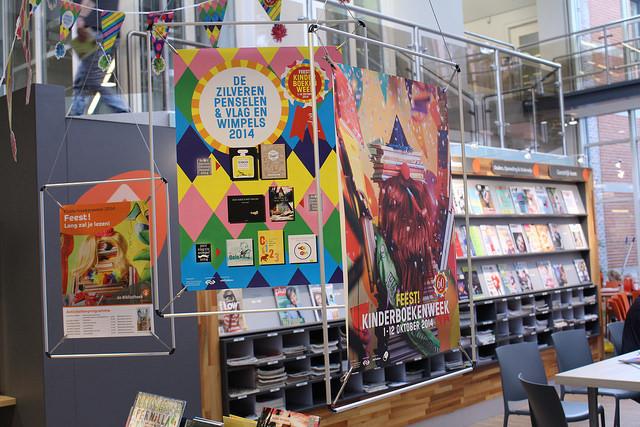 Kinderboekenweek 2014 start in bibliotheek Zwolle