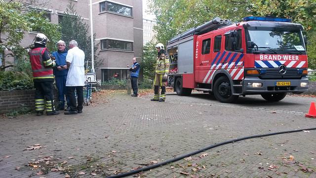 Photo of Video: Brandweer oefening Zwolle bevelvoerdersweek