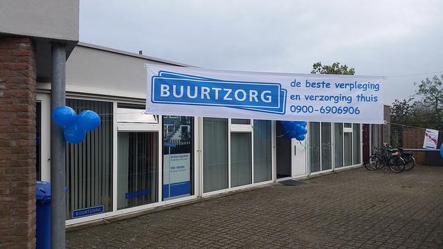Buurtzorg kantoor Gouverneurlaan Zwolle Zuid
