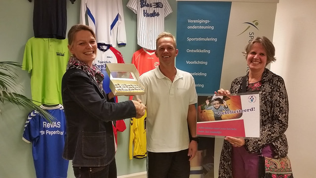 Sportservice Zwolle één van de twee winnaars van de Challenge Positieve Groepsvorming
