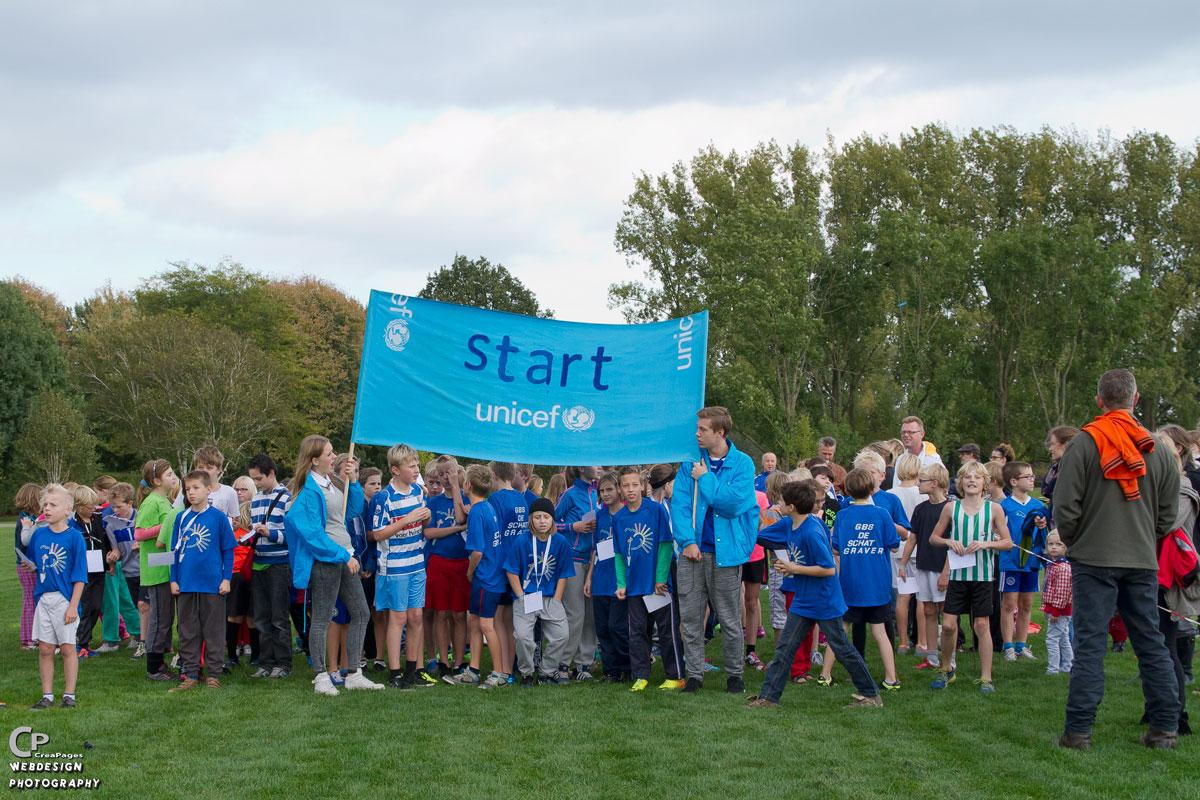 Photo of Kinderen uit Zwolle rennen € 8900 bij elkaar voor UNICEF