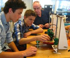 Photo of Excellente havisten bouwen 3D-printer bij Windesheim