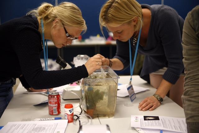 Voor leelkrachten waren er diverse workshops waarin zij aan de slag gingen met concrete lesideeën.