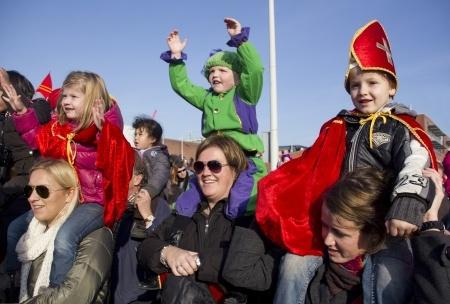 Photo of NIEUW Kinderfeest Grote Kerkplein Sinterklaas, 15 november 2014