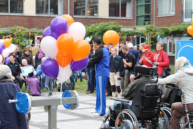 Photo of [UPDATE VIDEO] Nieuwe beweegtuin voor bewoners en buurtbewoners woonzorgcentrum Nieuwe Haven