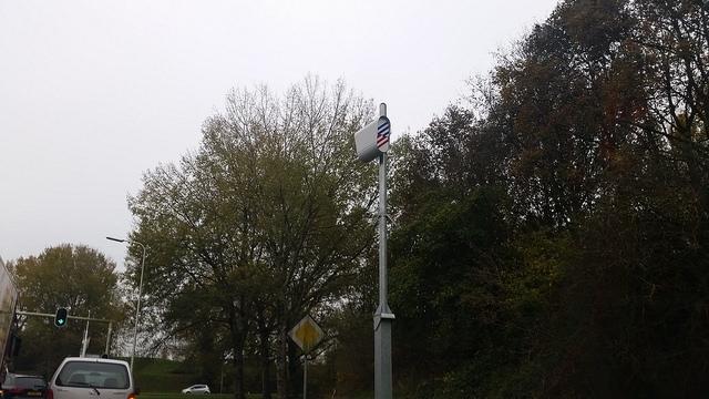 Photo of Nieuwe digitale flitspaal in Zwolle