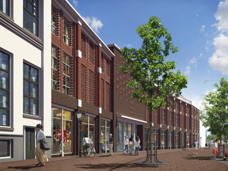Nieuwe ontwerp Melkmarkt Zwolle / Bankenlocatie