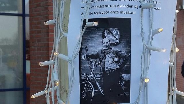 Photo of Stille tocht voor Zwolse straatmuzikant