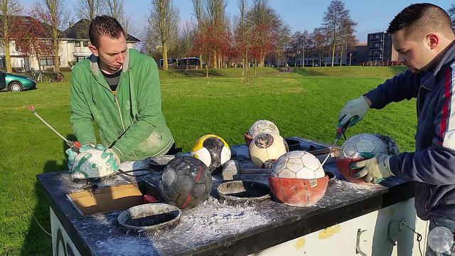 Carbidschieten Zwolle Zuid