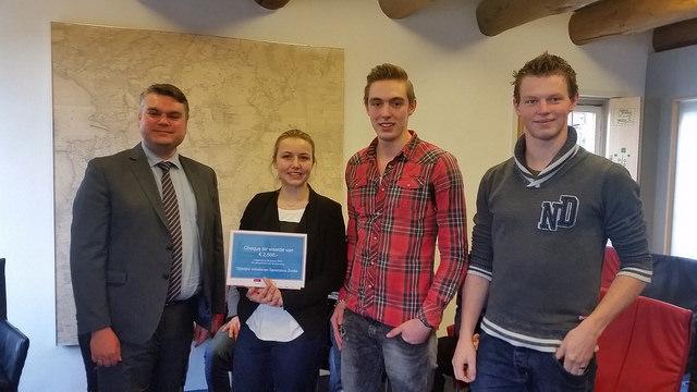2e prijs winnaars : Sportkooi