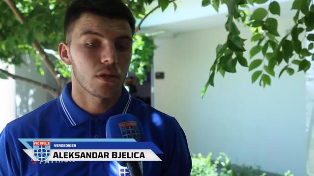 Photo of Aleksandar Bjelica naar PEC Zwolle