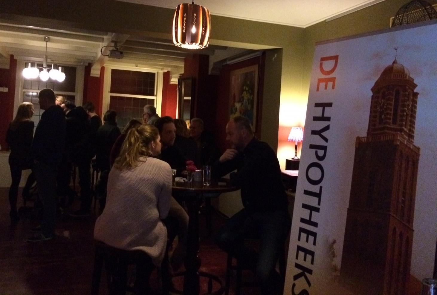 Photo of Starterscafé voor de startende woningzoeker in Zwolle succesvol
