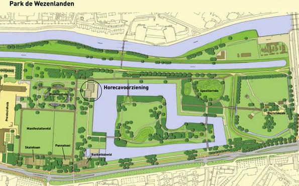 Photo of Plannen horecapaviljoen Park de Wezenlanden gaan door