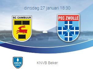 Photo of Voorbeschouwing kwartfinale KNVB Beker