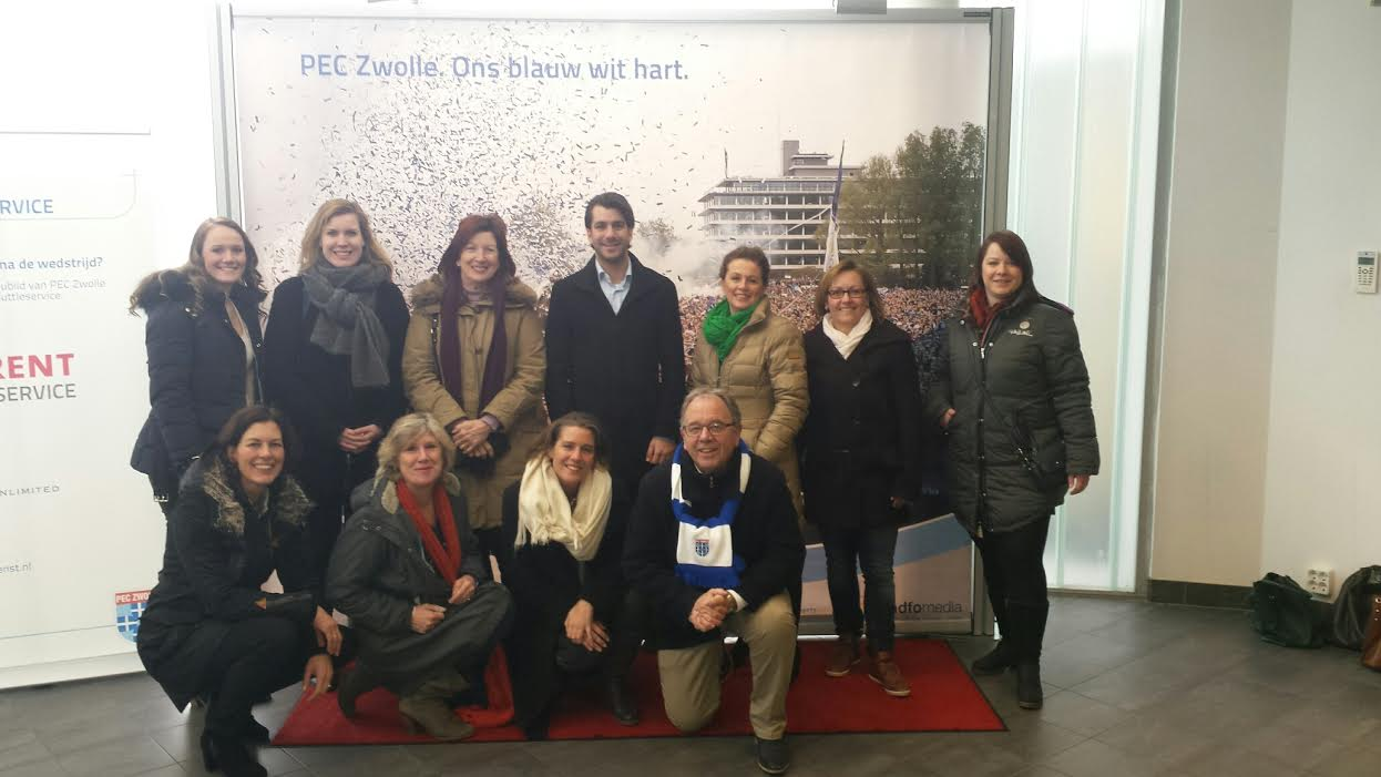 Photo of Congresorganisatoren en eventmanagers maken kennis met zakelijk Zwolle