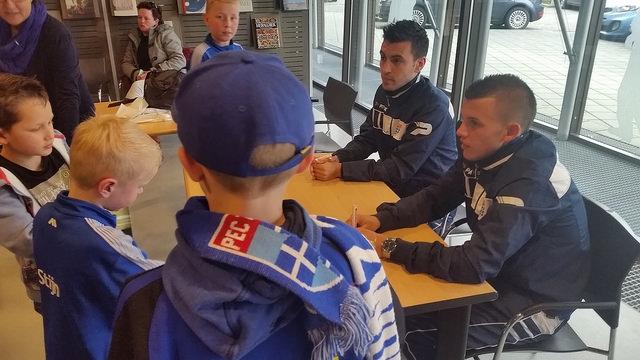 Photo of [VIDEO UPDATE] Bram van Polen en Jesper Drost razend populair bij Meet & Greet