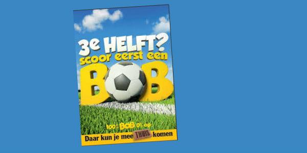 Photo of BOB-actie tijdens wedstrijd Vitesse tegen PEC Zwolle