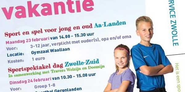 Photo of Sportactiviteiten voorjaarsvakantie Zwolle | kids 3 – 12 jaar