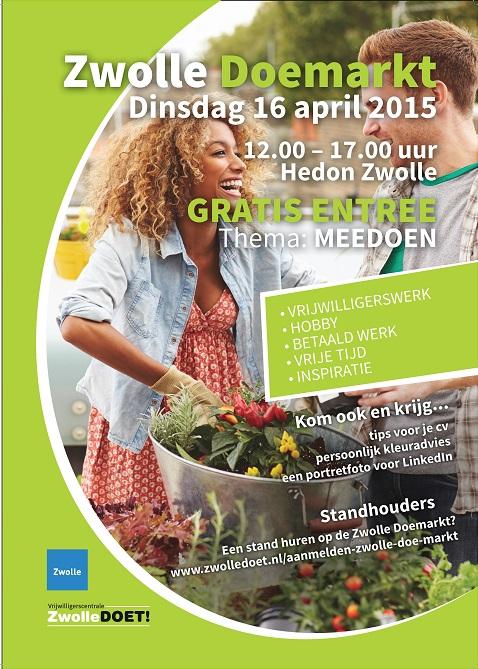 Photo of Presenteer jouw organisatie op de Zwolle Doemarkt