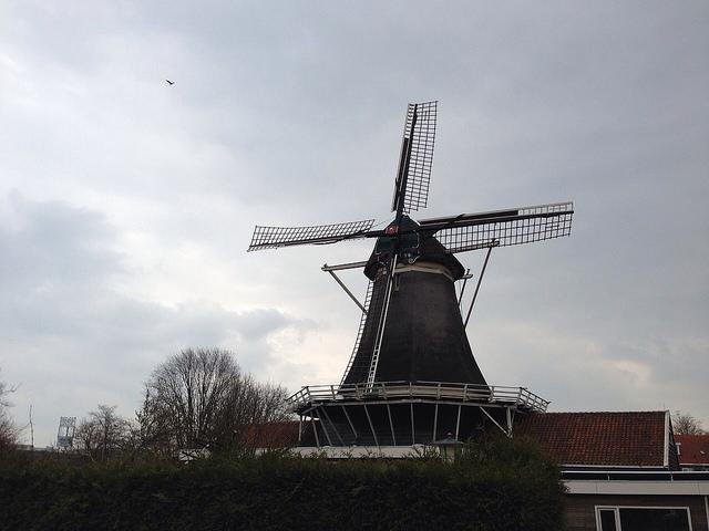 Photo of De Passiebloem molen in Dieze krijgt onderhoudsbeurt