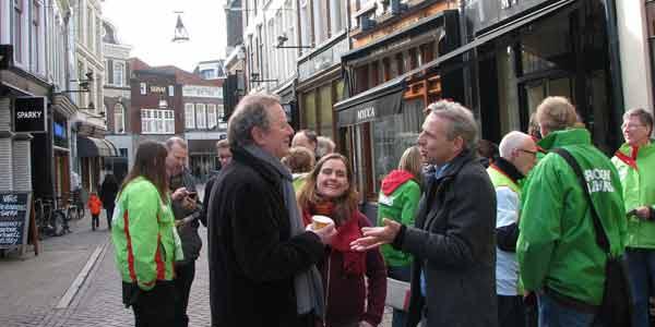 Photo of GroenLinks partijleider van Ojik maakte kennis met Zwolle