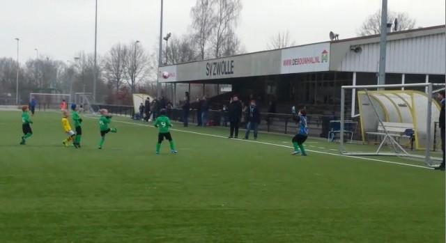 Photo of Doelpunt Koen Damman SV Zwolle F5 in Zappelin NPO3