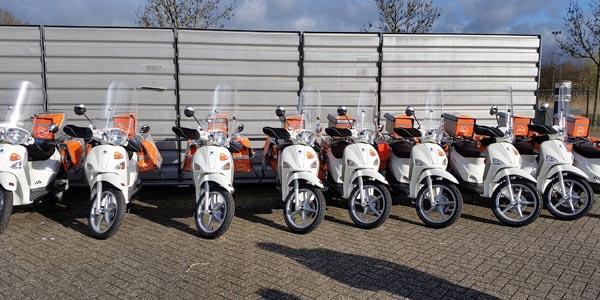 Photo of Buitengebieden krijgen straks post van de scooterbezorger