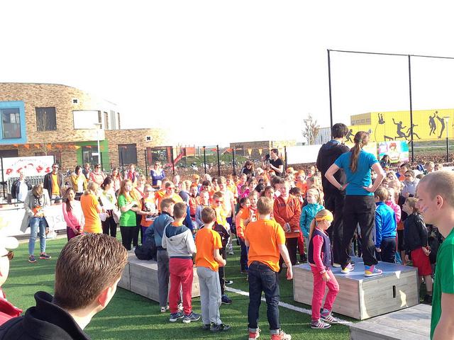 Photo of Jeugdjournaal maakt opnames Koningsspelen Sportpark Marslanden