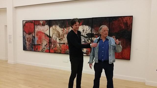 Photo of Acht schilderen Jan Cremer aangekocht door De Fundatie