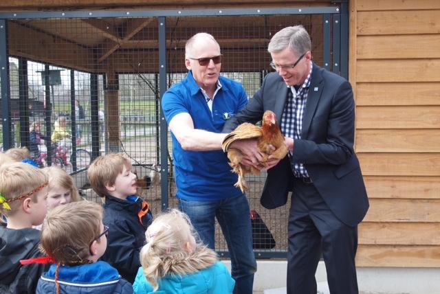 Photo of [Foto reportage] Volière geopend dierenweide Park de Wezenlanden