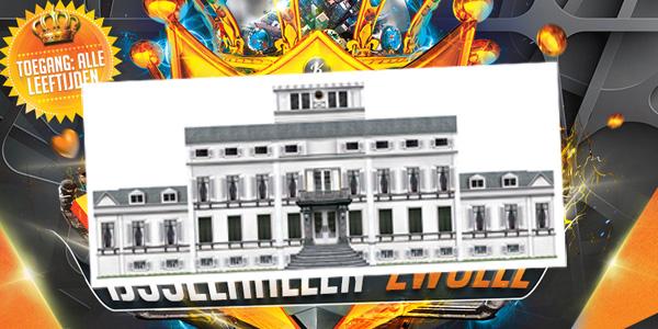Photo of Zwolle krijgt Koninklijk Paleis tijdens Kingdance IJsselhallen