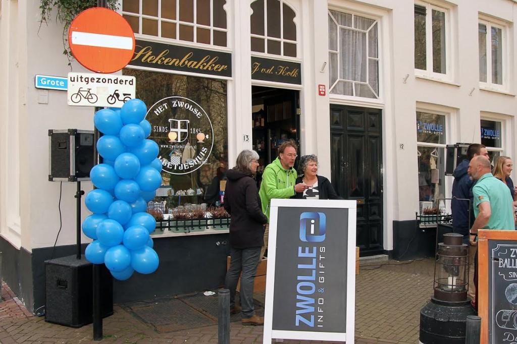 Zwolle Info & Gifts opening - Foto: © Frank van Hienen www.frankvanhienen-fotografie.nl