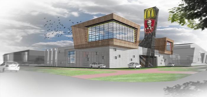 Photo of KFC, Burgerking en Subway najaar 2017 op locatie Café de Vrolijkheid