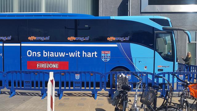 Photo of Stremmingen verkeer door vertrek PEC Zwolle bussen bekerfinale