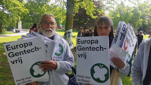 Monsanto demonstratie in Zwolle