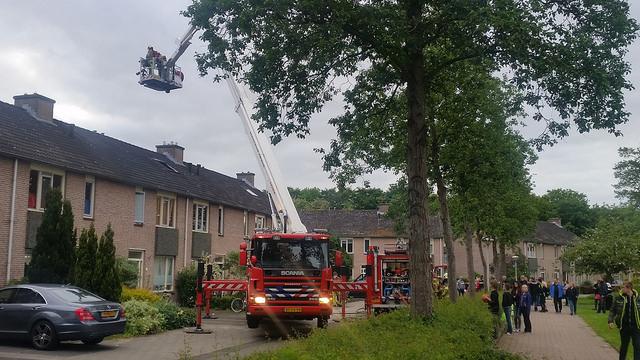 Photo of Brand woning Westenbergmate Zwolle Zuid
