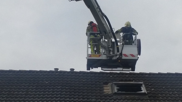 Brand Westenbergmate Zwolle Zuid