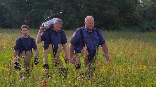 Photo of Verhoogd risico op uitbreiding natuurbrand in Overijssel
