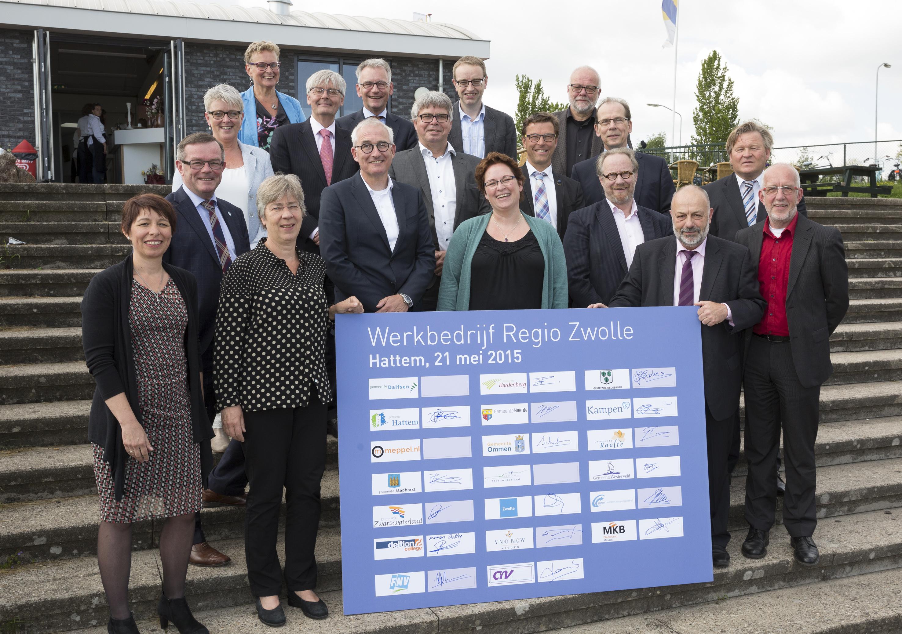 Photo of Werkbedrijf Regio Zwolle van start