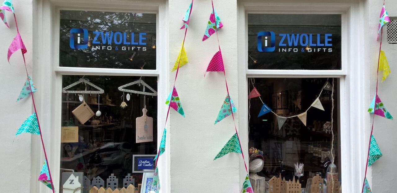 Versiering Zwolle Unlimited winkels in centrum Zwolle