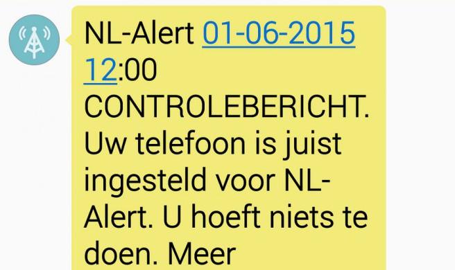 Photo of Landelijk controlebericht NL-Alert
