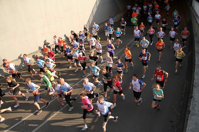 Zwolse Halve Marathon 2015 - ©Frank van Hienen - www.frankvanhienen-fotografie.nl