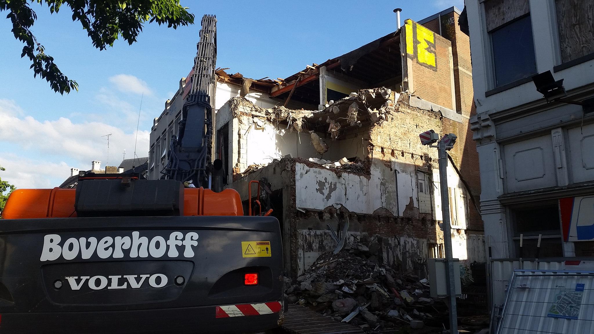 Asbest Melkmarkt Bankenlocatie