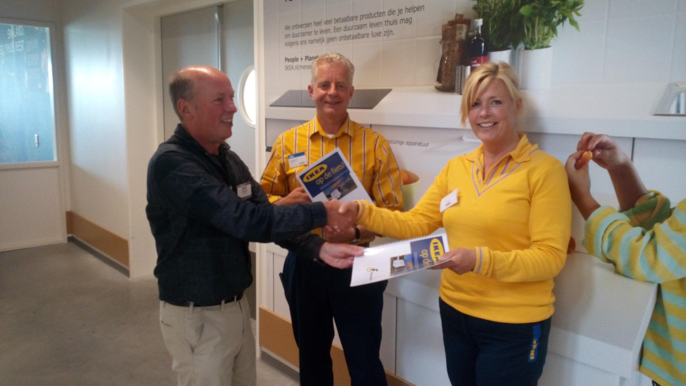 Photo of Fietsvoorzieningen IKEA Zwolle goed bevonden