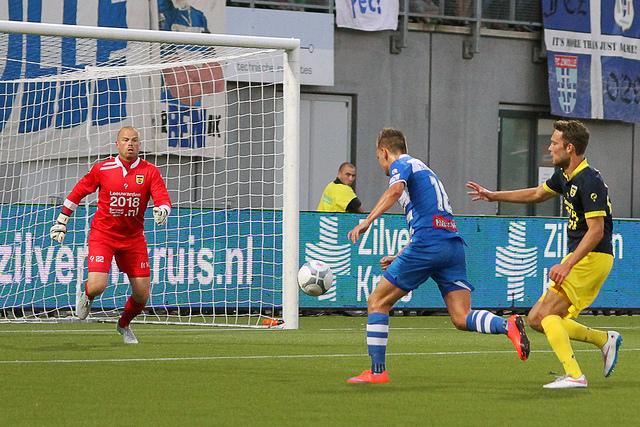 PEC Zwolle - Cambuur 2-2 | Foto's: ©Frank van Hienen - www.frankvanhienen-fotografie.nl