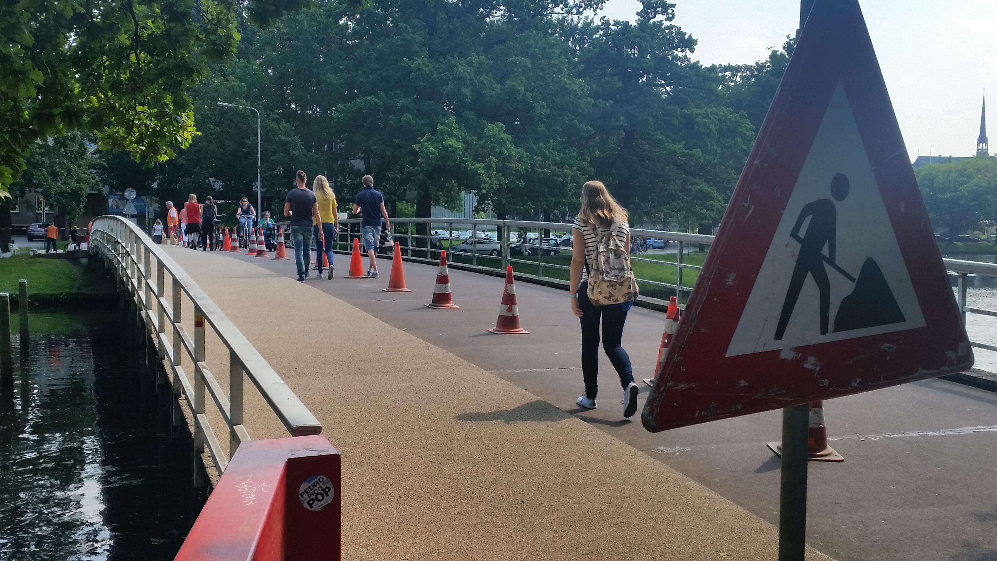 Photo of Weg tussen brug Turfmarkt en Kerkbrugje donderdag afgesloten